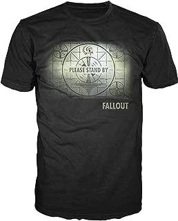Map Mens Black T-Shirt Licensed