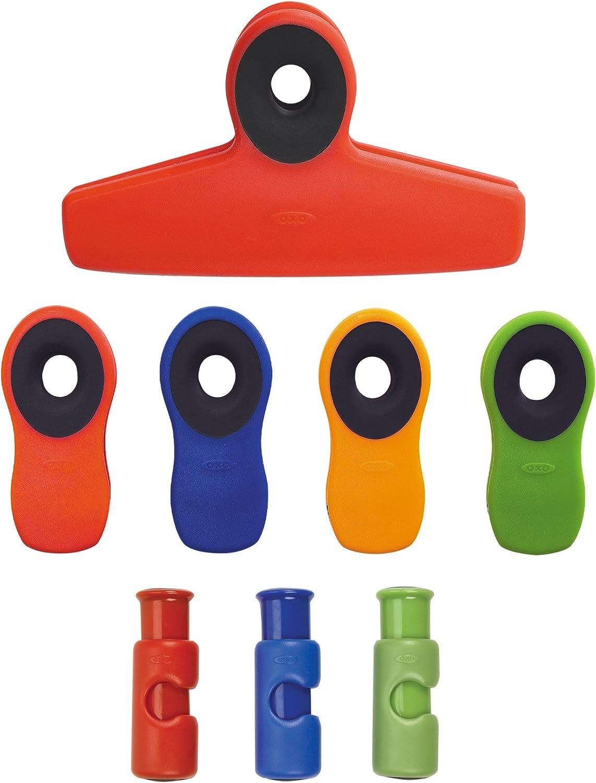 OXO - - - Good Grips 8-teiliges Clip Set, Plastik, Assorted Regular, Einheitsgröße B0051T97DQ | Angemessene Lieferung und pünktliche Lieferung  616e08