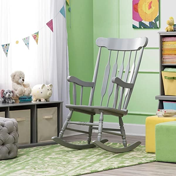 Rocking Chair For Baby Nursery Grey