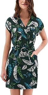 c362a5b1 Vestido SALSA Print DE Hojas