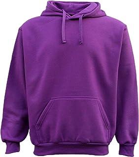 Zmart Adult Unisex Men's Plain Basic Pullover Hoodie Sweater Sweatshirt Jumper XS-6XL