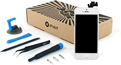 Screen Replacement Compatible with iPhone 5 - Fix Kit - White