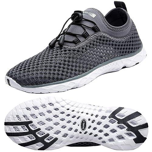 5f380dba32f4 Zhuanglin Men s Quick Drying Aqua Water Shoes