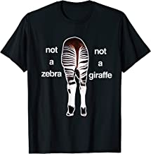 Okapi - Not a Zebra Not a Giraffe - African Safari Animal T-Shirt