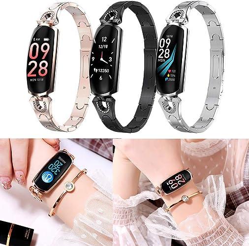 Hunpta@ Montre Intelligente,KW10 Smart Watch IP68 Bracelet de Surveillance de la fréquence Cardiaque étanche Fitness