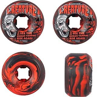 OJ III Skateboard Wheels Bloodsuckers 97A Red/Black Swirl 56mm