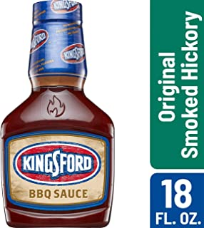 Kingsford BBQ Sauce - Original Smoked Hickory, BBQ Marinade and Sauce - 18 Ounces (Pack of 6)