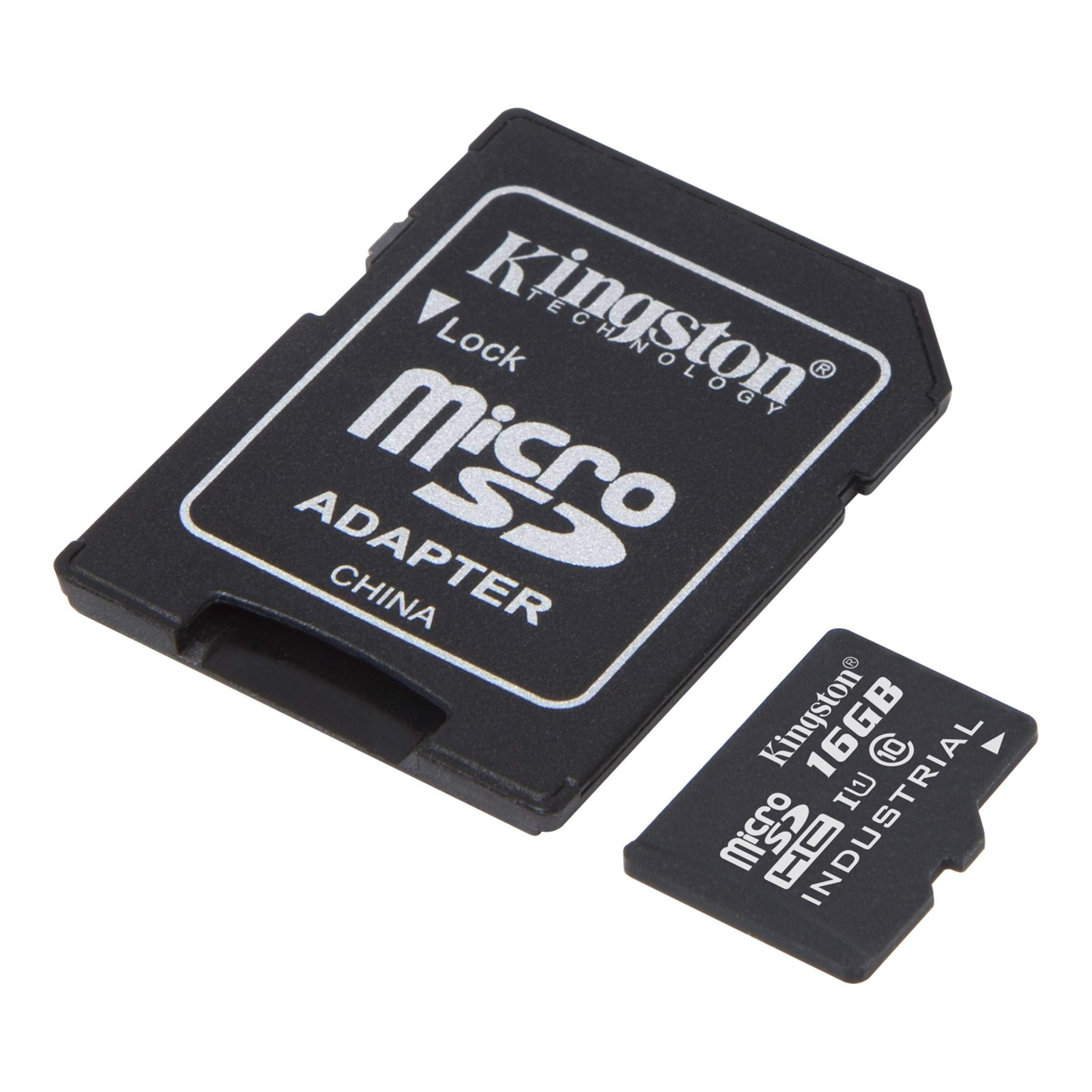 Kingston Industrial Grade 32GB Sony Xperia Pepper MicroSDHC Card Verified by SanFlash. 90MBs Works for Kingston