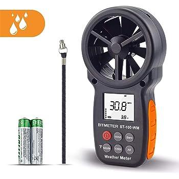 Anémomètre numérique CFM,de poche,pour la vitesse du vent,la température,le testeur d'humidité relative au refroidisseur,d'altitude et de pression barométrique,pour le drone d'escalade