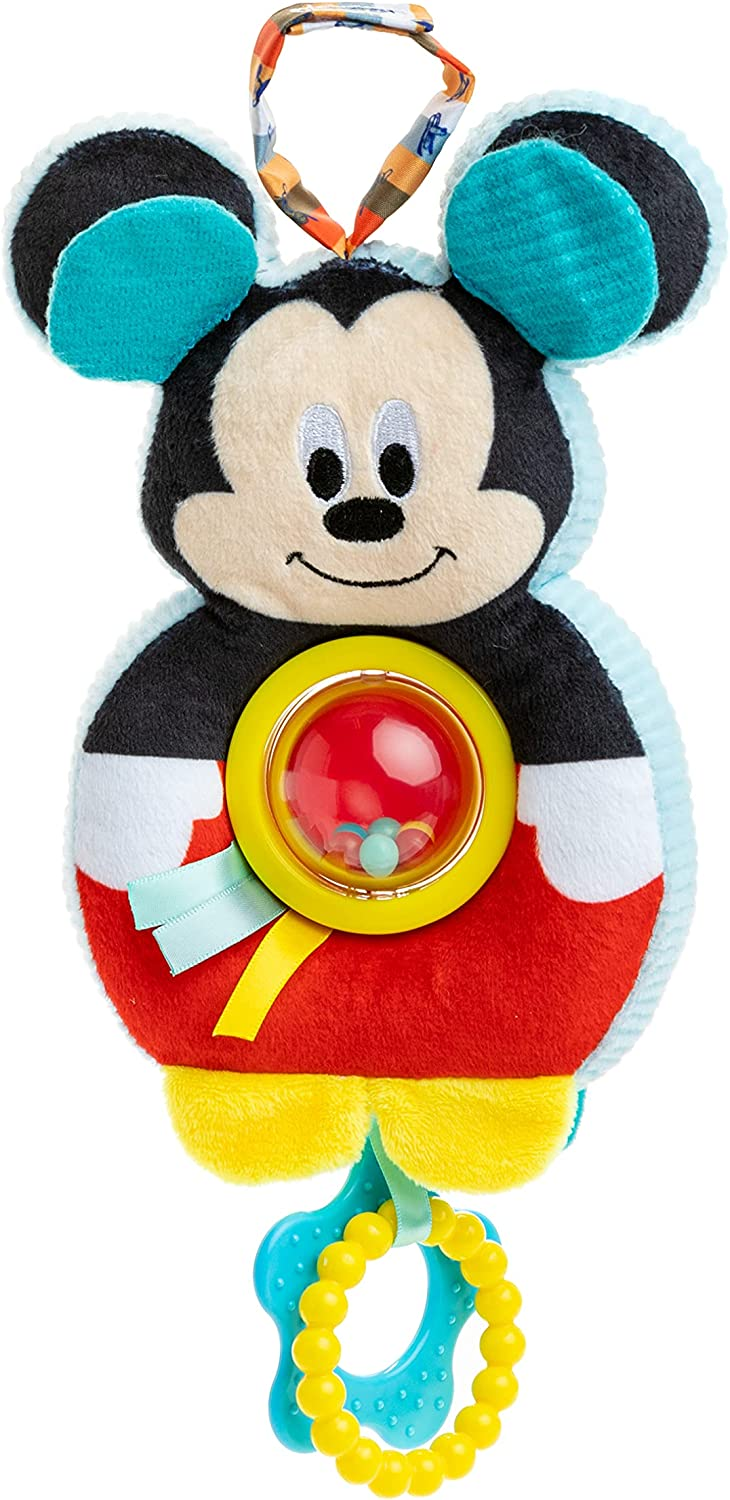 KIDS PREFERRED Disney Baby Mickey Mouse Spinner Ball On The Go Activity Toy