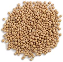Frontier Co-op Mustard Seed, Yellow Mustard Whole, Certified Organic, Kosher, Non-irradiated | 1 lb. Bulk Bag | Sinapis al...
