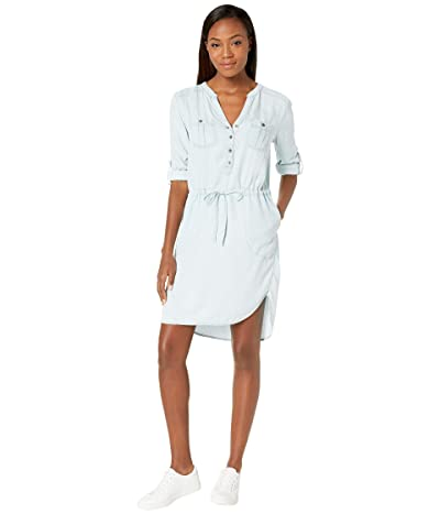 Prana Abbey Dress (Vintage Blue) Women