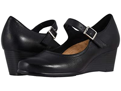 Trotters Willow (Black Embossed) Women