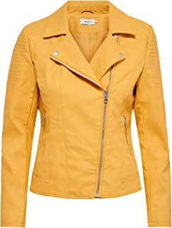 Only da donna in ecopelle Giacca Biker Giacca Giacca leggera donna Giacca Giacca di transizione