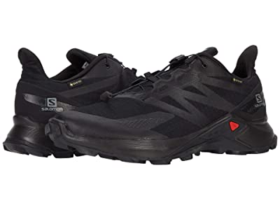Salomon Supercross Blast GTX(r) (Black/Black/Black) Men