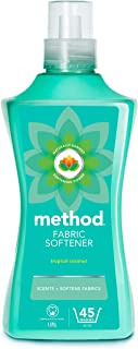 Method Tropical Coconut Fabric softener, Pack of 4, 180 Washes