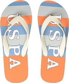 US Polo Association Men's Hale Flip Flops Thong Sandals