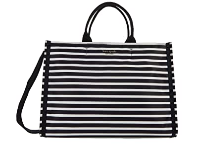 Kate Spade New York New Nylon Watch Hill Stripe Large Tote