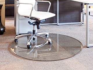 clearly innovative glass chair mats
