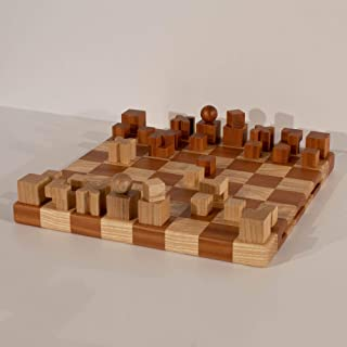 Bauhaus chess - scacchiera in legno