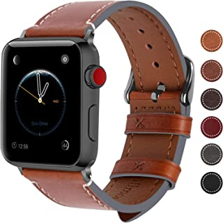 Best apple watch wide leather band Reviews
