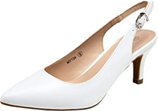 Amazon.com: Women's Slingback Shoes White