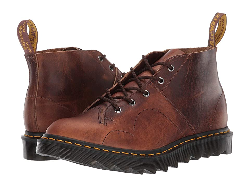Dr. Martens Church Ripple Made In England (Brown) Boots