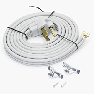 DC3-30-10 Clothes Dryer Power Cord | 3 Wire | 10 Feet Long | 30A 220V