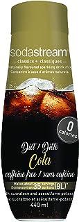 SodaStream Fountain Style Sparkling Drink Mix - Caffeine Free Diet Cola Mix