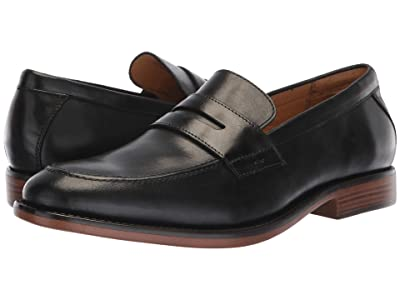 Dockers Harmon (Black Polished Full Grain) Men