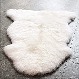 sheepskin rug 4x6