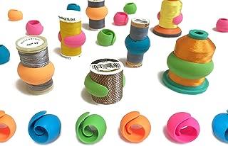 Peels thread Spool Huggers, Keep Thread Tails Under Control Preventing Unwinding (12 Pieces)