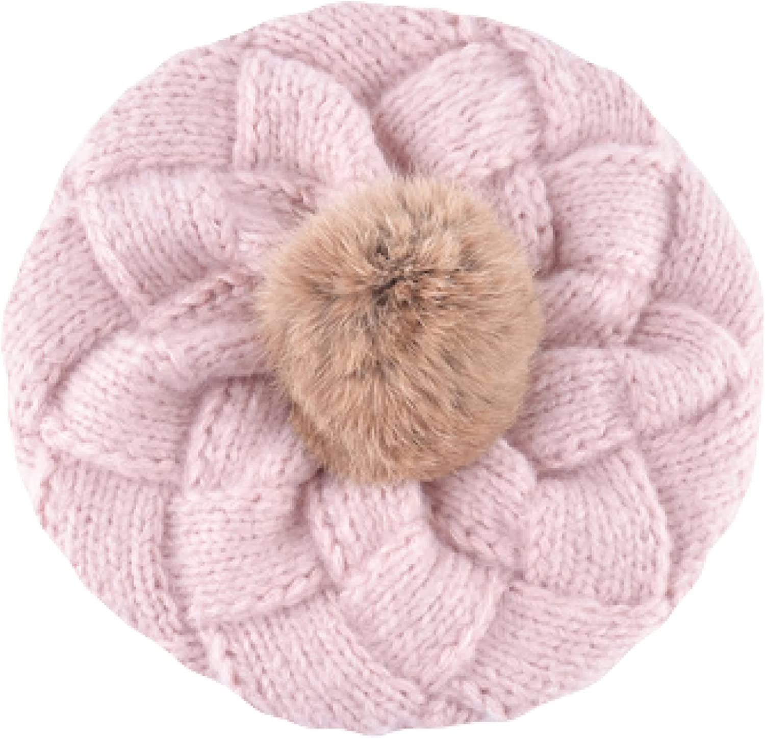 Lovely Winter Beret Hats Limited price for Women Rab Award Berets Wool Knitted Girls