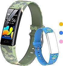 HOFIT Fitness Tracker voor kinderen, fitnesshorloge activiteitentracker met stappentellers, hartslag- en slaapmonitor, sto...