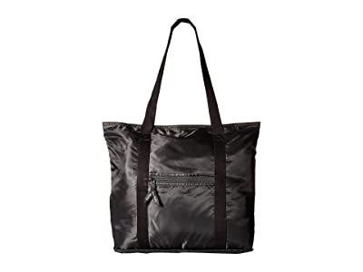 Vera Bradley Packable Tote (Black) Tote Handbags