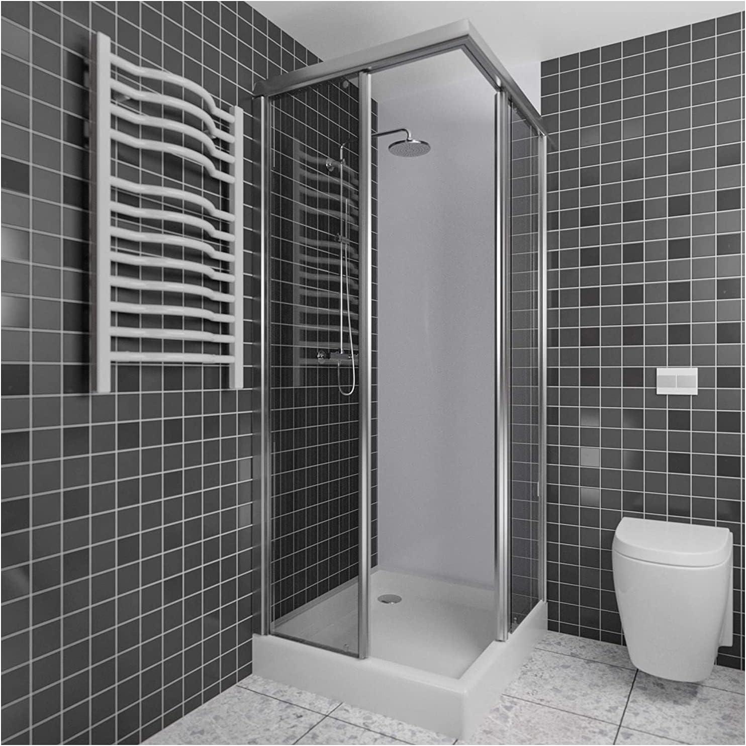 Duschwand Verkleidung als Wandfliesen Badezimmer Ersatz ...