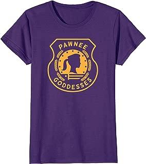 Womens Womens Ladies Girls Pawnee Goddesses Scout Shirt Clean Gold