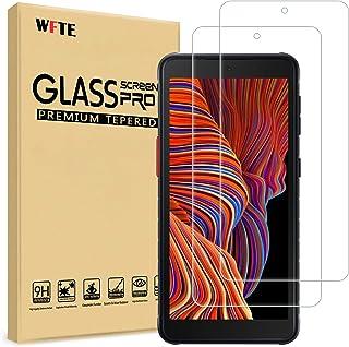 WFTE [Lot de 2] Films de Protection d'écran pour Samsung Galaxy Xcover 5,Dureté 9H,HD Ultra Transparent,Anti-Rayures,Anti-...