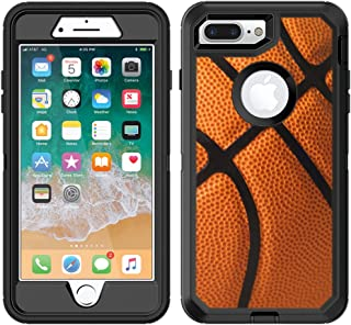 Teleskins Protective Designer Vinyl Skin Decals/Stickers for Otterbox Defender iPhone 8 Plus/iPhone 7 Plus Case - Basketball Design Patterns - only Skins and not Case