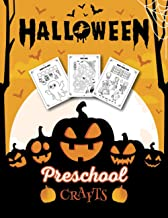 HALLOWEEN PRESCHOOL CRAFTS: Fantastic Activity Book For Boys And Girls: Word Search, Mazes, Coloring Pages, Connect the dots, how to draw tasks – For kids ages 5-8 (Halloween Crafts) PDF