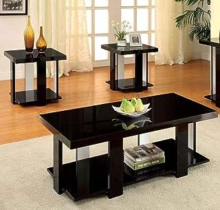 Amazon.com: Black - Living Room Table Sets / Tables: Home & Kitchen