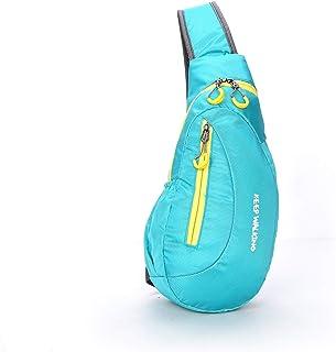 حقائب كتف للرجال على الكتف حقيبة ظهر صغيرة للصدر مناسبة اليوم للأطفال حقائب كروس صغيرة