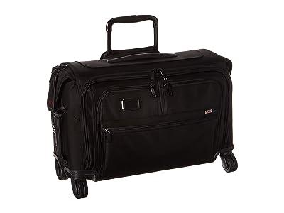 Tumi Alpha 3 Garment 4 Wheeled Carry-On (Black) Luggage