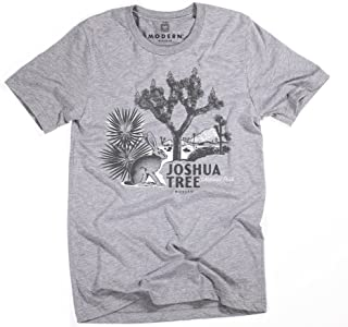 Superluxe Clothing Mens Vintage Joshua Tree National Park Tri-Blend T-Shirt