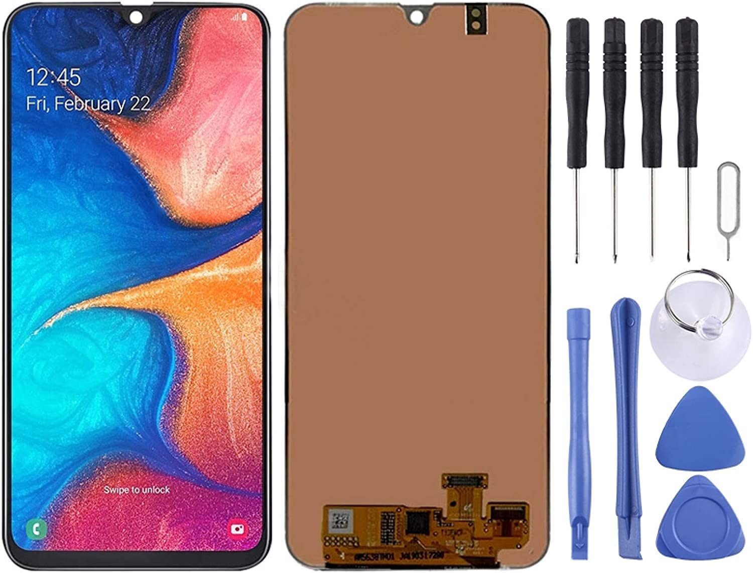 Mobile Courier shipping free shipping Rare Display LCD Screen and Full Assembly Digitizer Galaxy for