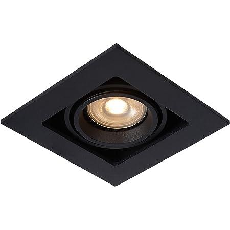 Lucide 09926/01/30 Spot encastrable, Aluminium, GU10, 50 W, Noir