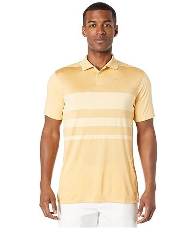 Nike Golf Dry Vapor Polo Stripe (Celestial Gold/Celestial Gold) Men