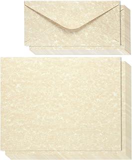 مجموعه نامه های کاغذ لوازم التحریر 48 عددی با پاکت های 48 تایی