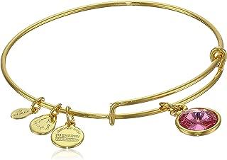 Alex and Ani Bangle Bar Imitation Birthstone Bangle Bracelet, 2.75