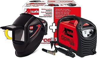 Telwin 815861 FORCE 125- Soldador inverter con electrodo MMA, 10 - 80 A,